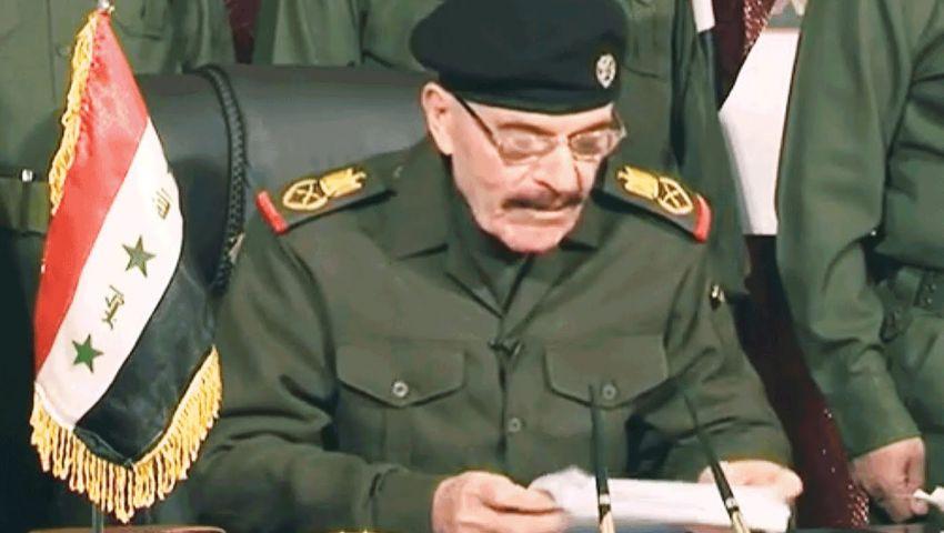 عزة الدوري يظهر بتسجيل جديد يدعو للاصطفاف ضد إيران
