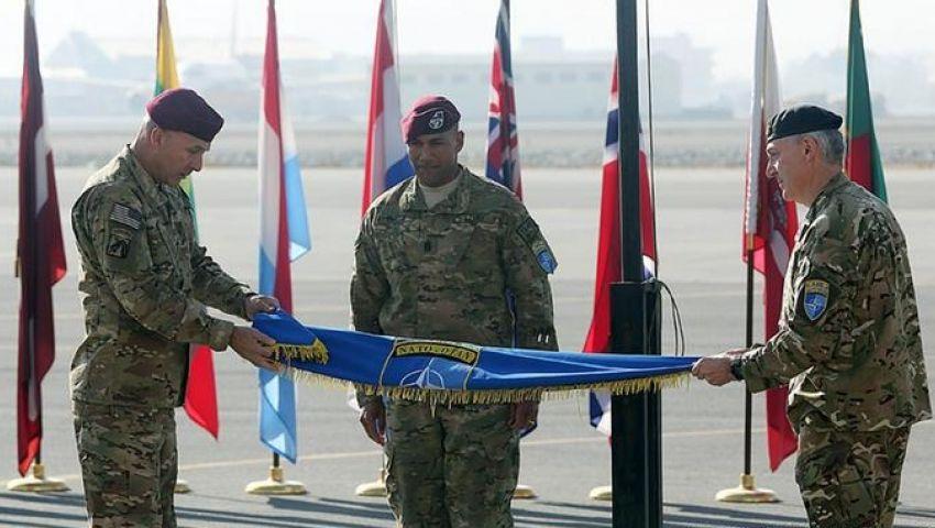 الناتو ينظم حفل وداع قبل مغادرة أفغانستان