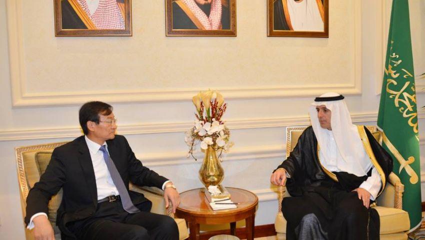 وزير خارجية السعودية يستقبل نظيره الصيني في جدة
