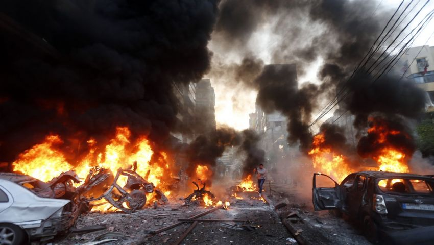 داعش تفجر سيارتين قرب حدود تركيا
