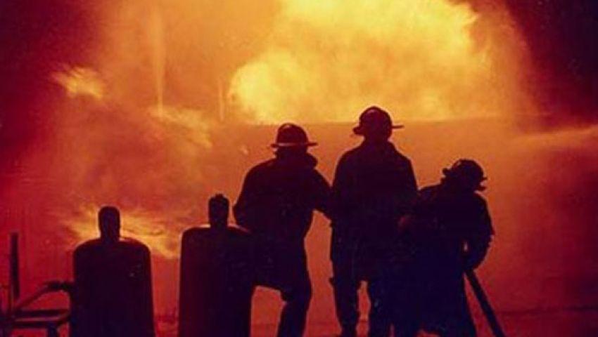ماس وراء حريق عمارة سكنية بالمنوفية
