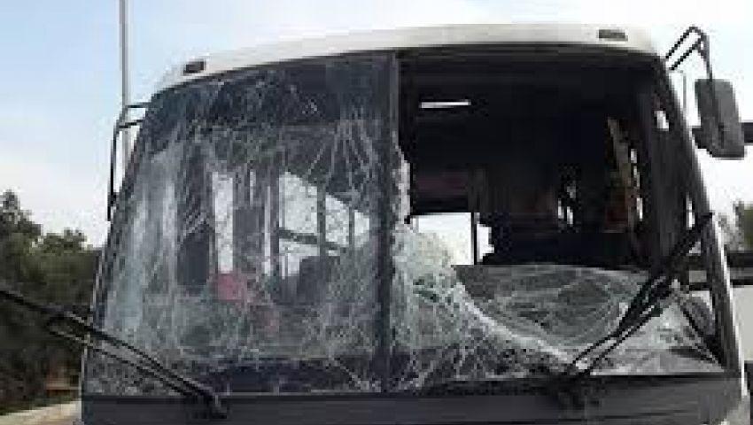 النيابة تحقق فى الهجوم على أتوبيس الشرطة بالعريش