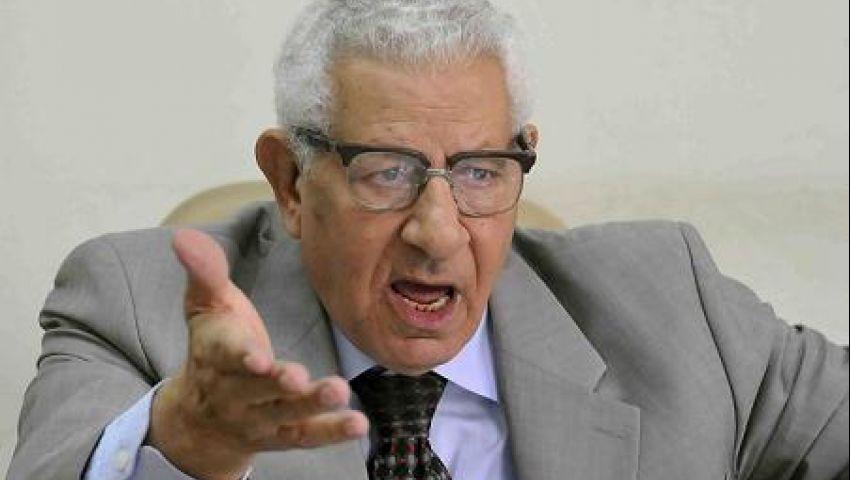 مكرم: دعوة السيسي الشعب للاحتشاد ضربة معلم