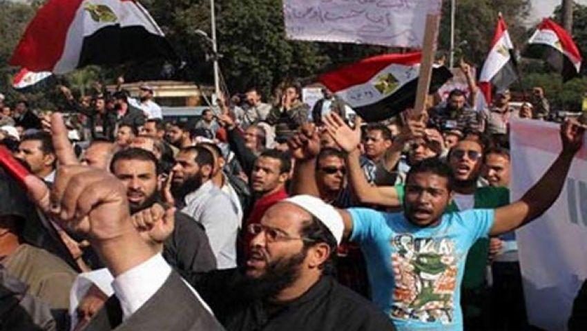 تزايد أعداد المتظاهرين بميدان رابعة العدوية