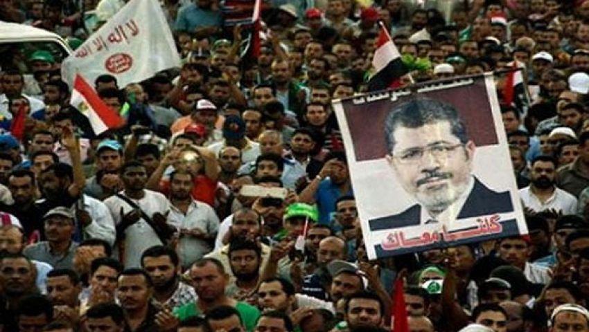 استمرار اعتصام مؤيدي مرسي لليوم الـ 13