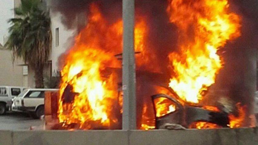 قائد الأمن المركزي بالبحيرة يتهم الإخوان بحرق سيارته