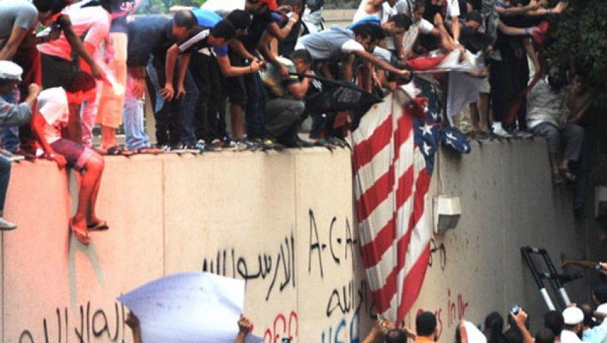 دعوة سلفية للتظاهر أمام سفارتي أمريكا وإسرائيل