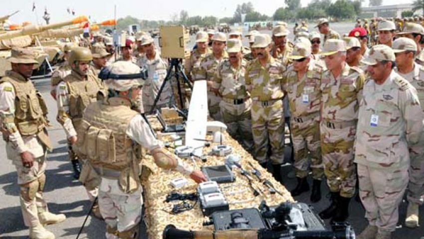 مناورات عسكرية سعودية مصرية بمقاتلات إف 16