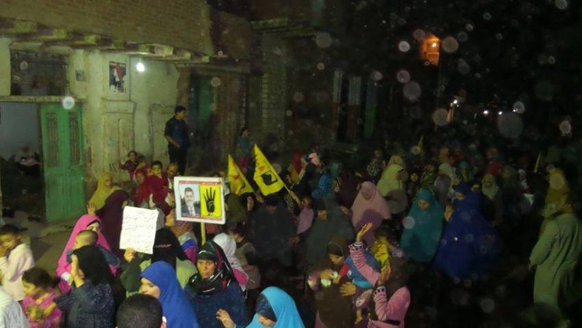 بالصور.. مسيرة ببني سويف للمطالبة بالإفراج عن المعتقلين