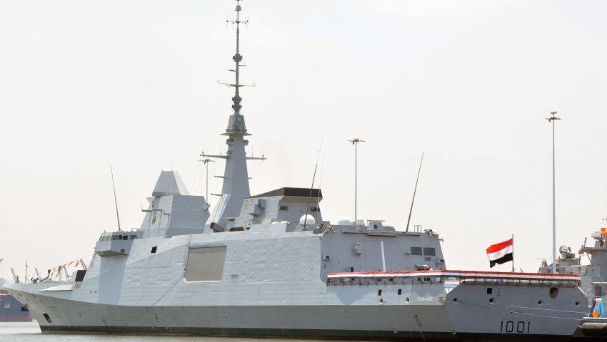 القوات البحرية تحتفل بتسلم الفرقاطة الفرنسية