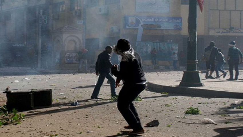 9 إصابات باشتباكات بين مؤيدي ومعارض مرسي بالإسكندرية