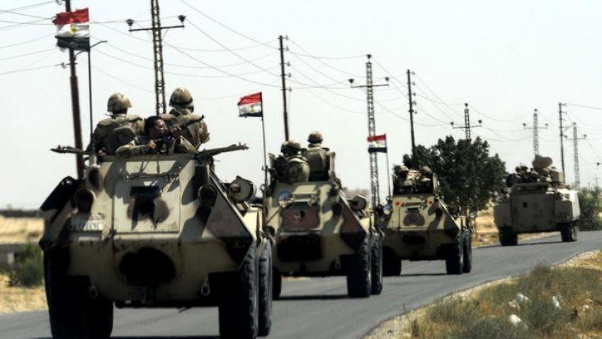 مقتل جندي إثر هجوم لمسلحين في سيناء