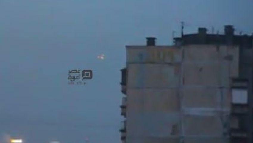 فيديو.. ظهور أجسام فضائية فوق منزل فلاديمير بوتين