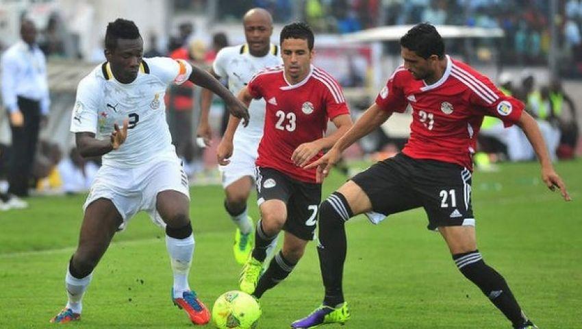 طرح تذاكر مباراة مصر وغانا غداً