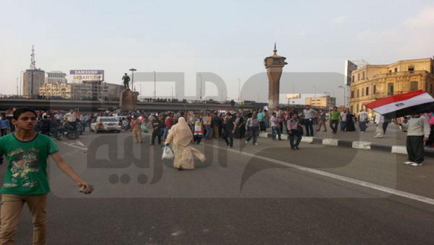 بالفيديو.. مسلحان يطلقان النار في اشتباكات عبد المنعم رياض