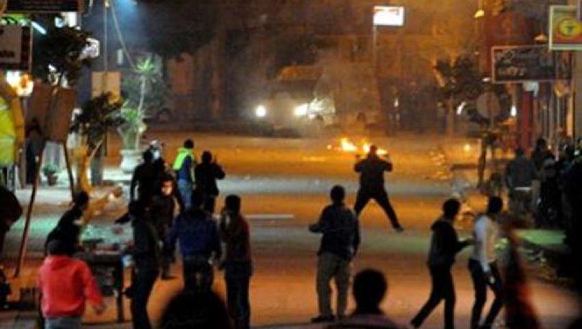 الأمن يحاصر منازل يختبئ بها مسلحون بسيدي جابر