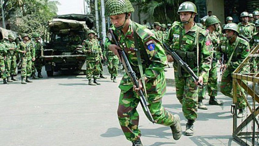 الجيش البنغالي ينتشر في البلاد قبيل الانتخابات العامة
