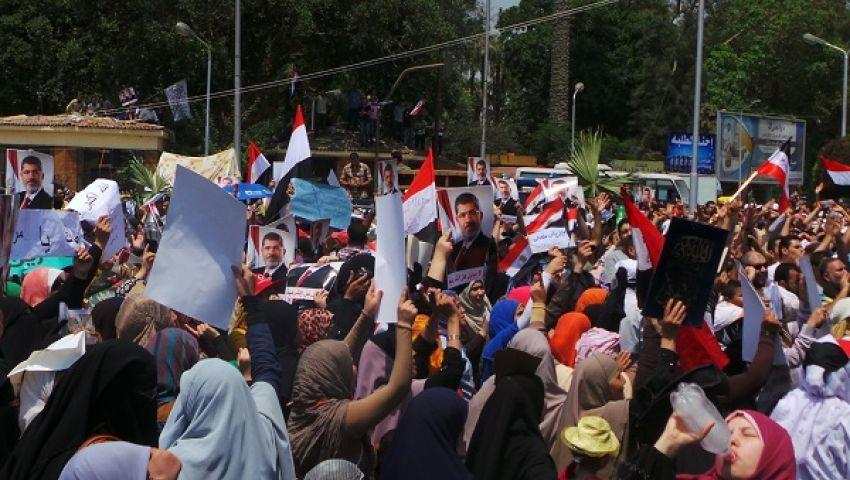 منصة نهضة مصر : اعتصام مفتوح دعما للشرعية وبقاء مرسي