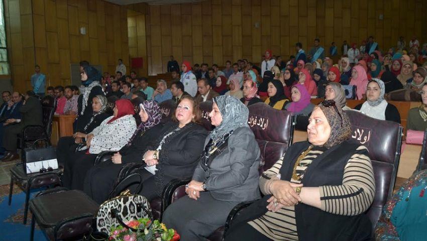بالفيديو  «حقوق طنطا» تنظم ندوة عن دور المرأة فيتنمية المجتمع