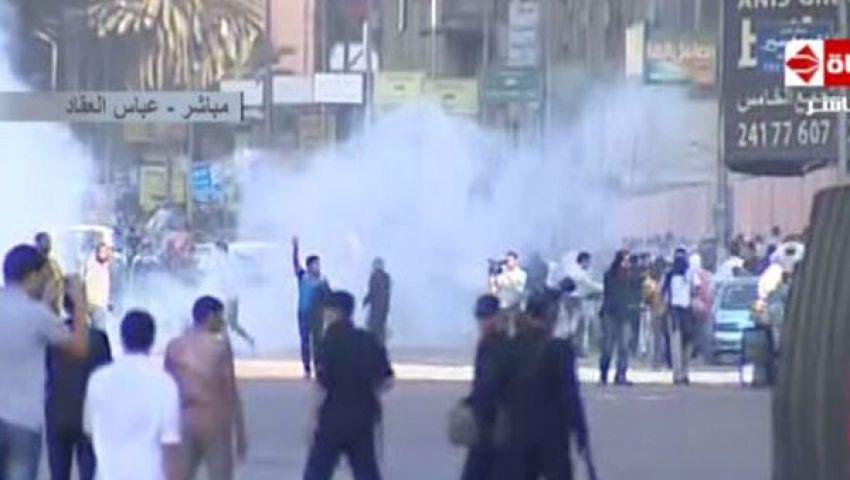 الشرطة تمنع مسيرة رافضي الانقلاب من الوصول لـرابعة