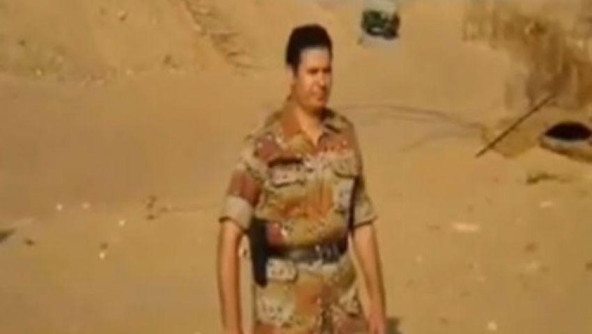 الجيش يعتقل بطل فيديو الجيش المصري الحر