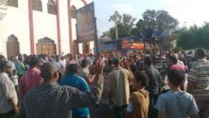مظاهرة لمؤيدي مرسي بالإسماعيلية تنديدًا بالانقلاب