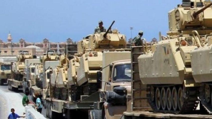 فيديو ..عملية عسكرية موسعة ضد الجماعات التكفيرية شمال سيناء