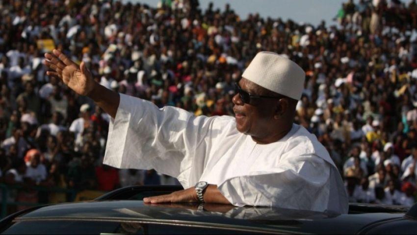 كيتا يؤدي اليمين الدستورية رئيسا لمالي