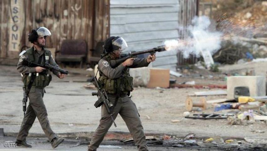 فيديو.. مقتل شاب فلسطينى فى اقتحام قرية قلنديا بالضفة