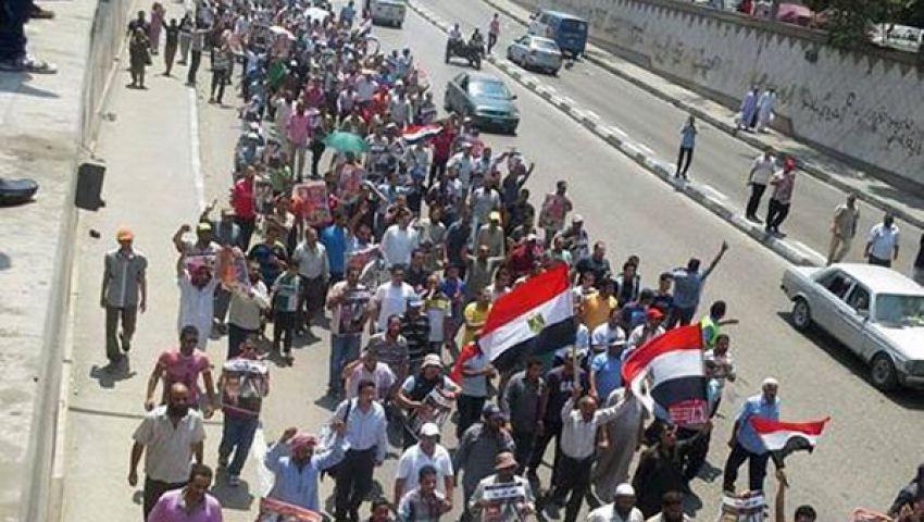 مئات الآلاف في مسيرة تجاه النهضة