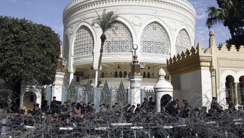 إجراءات أمنية مكثفة بمحيط قصر الاتحادية