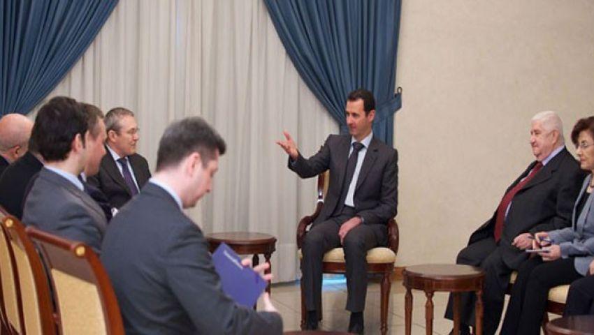 الأسد يجدد تمسكه بالمبادرة الروسية