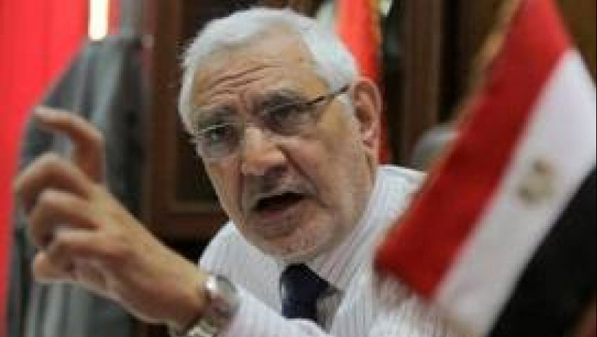 مصر القوية يطالب باستفتاء شعبي على خارطة الطريق