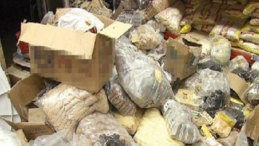 80  كيلو أغذية فاسدة بـ مصر والسودان