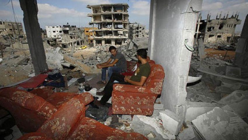 بالصور.. عودة سكان غزة إلى منازلهم