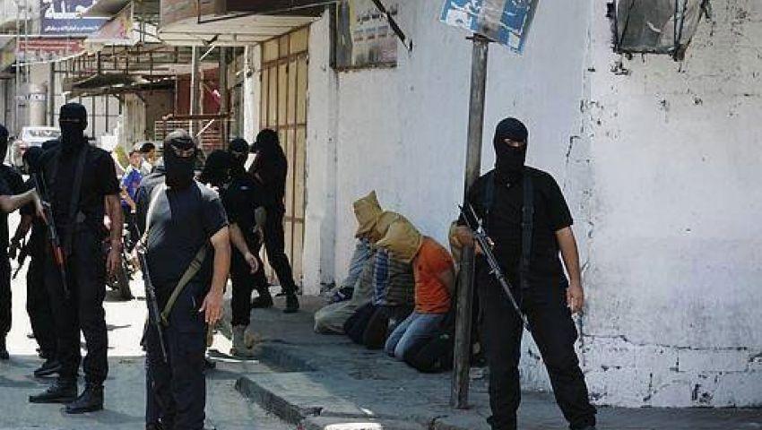 مسلحون بغزة يُعدمون 18 متخابرا مع إسرائيل