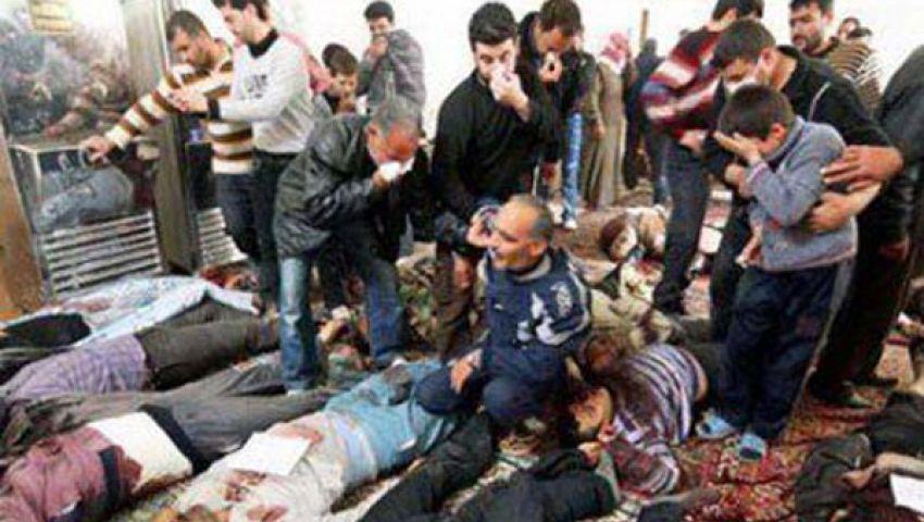 قوات الأسد تقتل 123 شخصا في سوريا