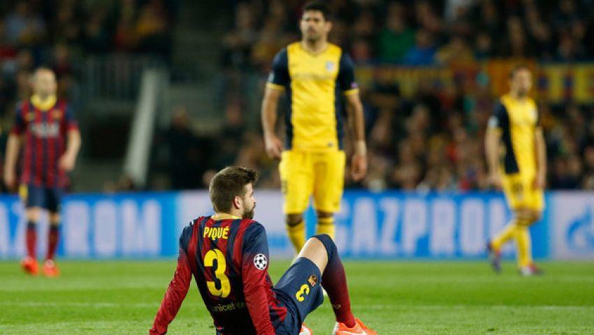التعادل السلبي يحسم الشوط الأول من مباراة برشلونة وأتلتيكو