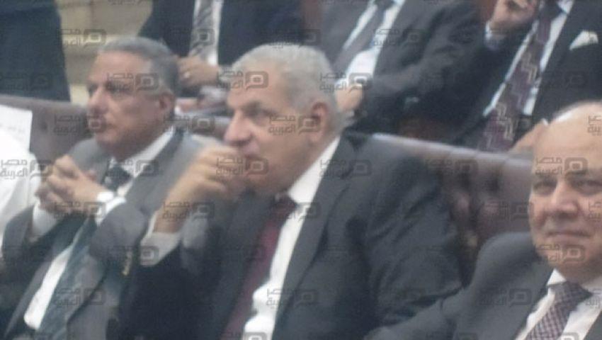 بالفيديو.. محلب وأبو النصر يكرمان أوائل الثانوية المصابين بالسرطان