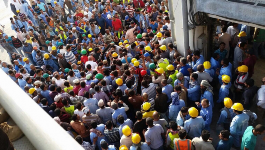 مصريون بشركة بن لادن: مشاكلنا لم تحل.. والهجرة تكذب