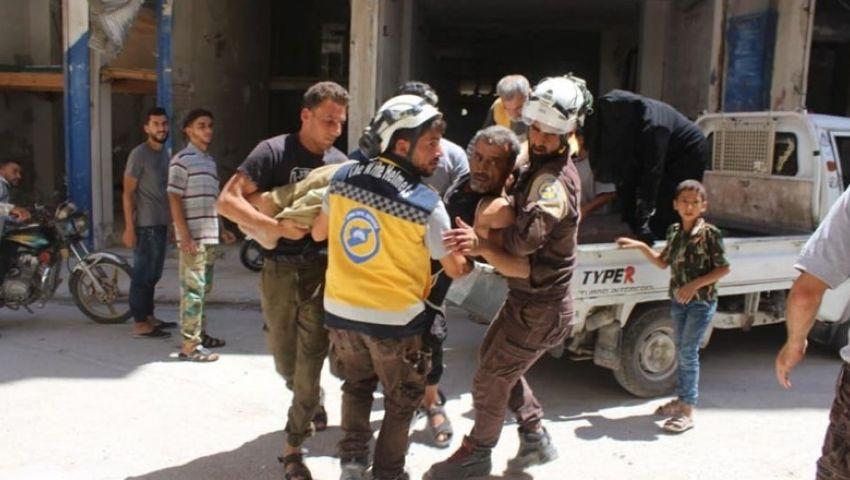 القذائف تضيء سماء إدلب.. الأسد يهنئ «عاصمة المهجرين» بالعام الجديد