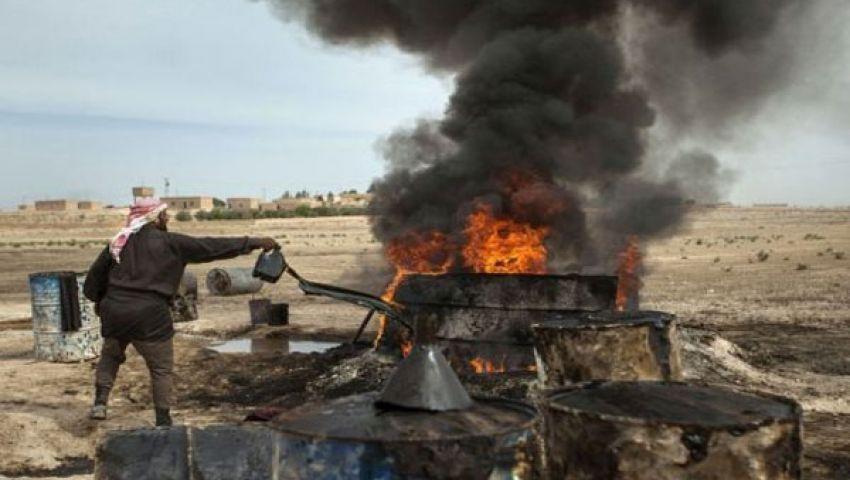 تقرير بريطاني: إنتاج النفط السوري تراجع 95%