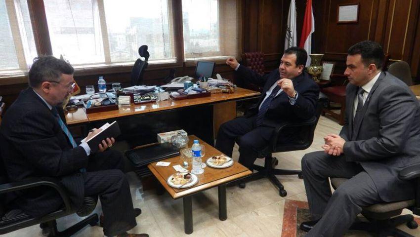 سفير مونتينجرو يبحث التعاون الملاحي مع ميناء الإسكندرية