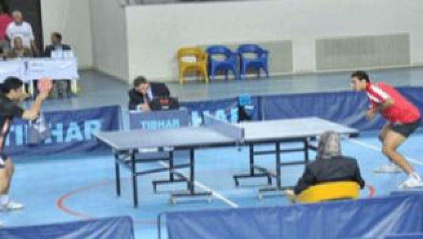 الأهلي يحصد  المراكز الأولى بالبطولة الأفريقية لتنس الطاولة