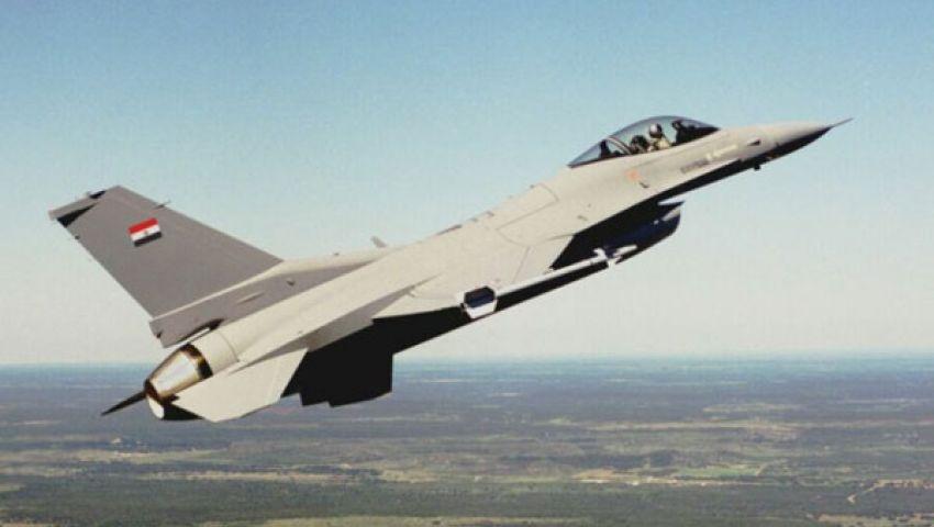 طائرات عسكرية تحلق بسماء العريش