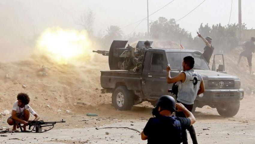 جيش حفتر يدفع بتعزيزات عسكرية بطرابلس.. المعارك تشتد على أبواب العاصمة