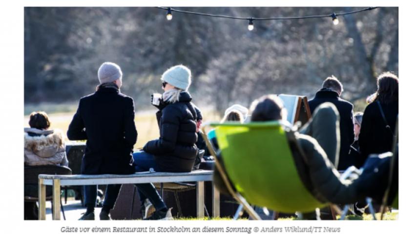 صحيفة ألمانية: «في ظل كورونا» السويد تبدو كجزيرة أوروبا السعيدة.. ما الأسباب؟