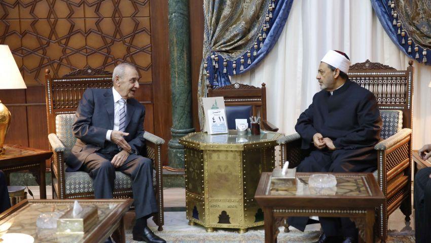 الطيب لرئيس النواب اللبناني: بلدكم عزيز على قلوبنا