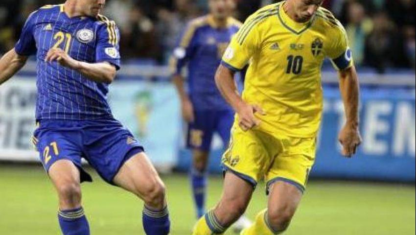 فيديو.. إبراهيموفيتش يؤجل تأهل ألمانيا للمونديال