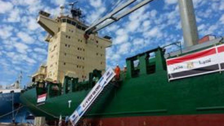ميناء الإسكندرية تستقبل شحنات جديدة من القمح الأوكراني